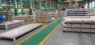 China 316Ti Stainless Steel Plate 316Ti (S31635, 1.4571) Hot Rolled Plate316Ti Austenitic Stainless Steel fournisseur